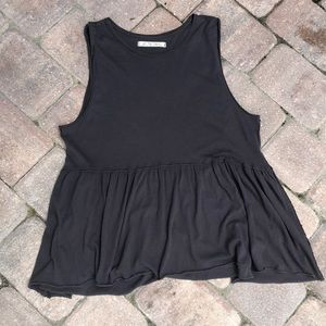 Free people sleeveless tunic/top new without tag L